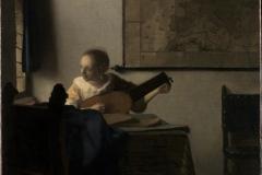 Vermeer La joueuse de luth