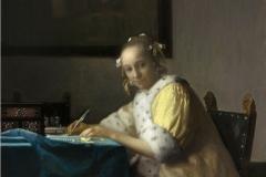 Vermeer La lettre interrompue