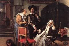 """Jan Steen """"La visite du médecin"""""""