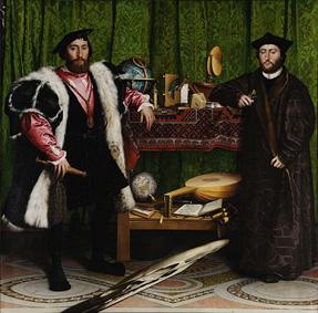 Les ambassadeurs, Hans Holbein le Jeune, 1533, National Gallery