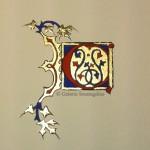 Gouache, or sur papier aquarelle format 8x6
