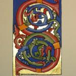 Gouache, or sur papier aquarelle Format 9x6