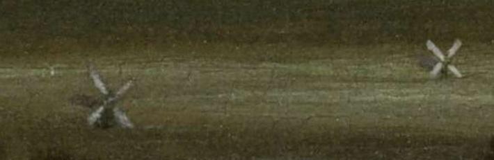 tjasker, champ de blanchiment, Jacob van Ruisdael, moulin à vent, Haarlem,pays-bas,polders,asséchement marécage