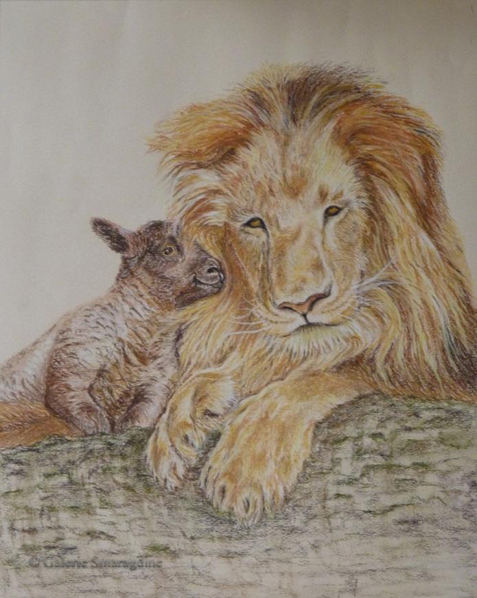 Le lion au coeur tendre019