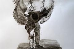 Le portefaix d'après Goya020