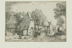 074 Estampe d'après le Maître des Petits Paysages (v. 1555 - 1560)