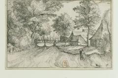 073 Estampe d'après le Maître des Petits Paysages (v. 1555 - 1560)