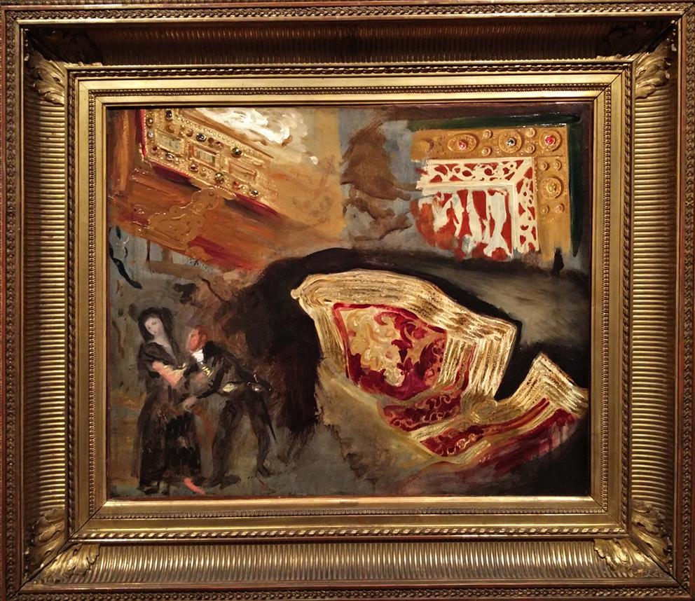 14Étude de reliures, veste orientale et figures d'après Goya