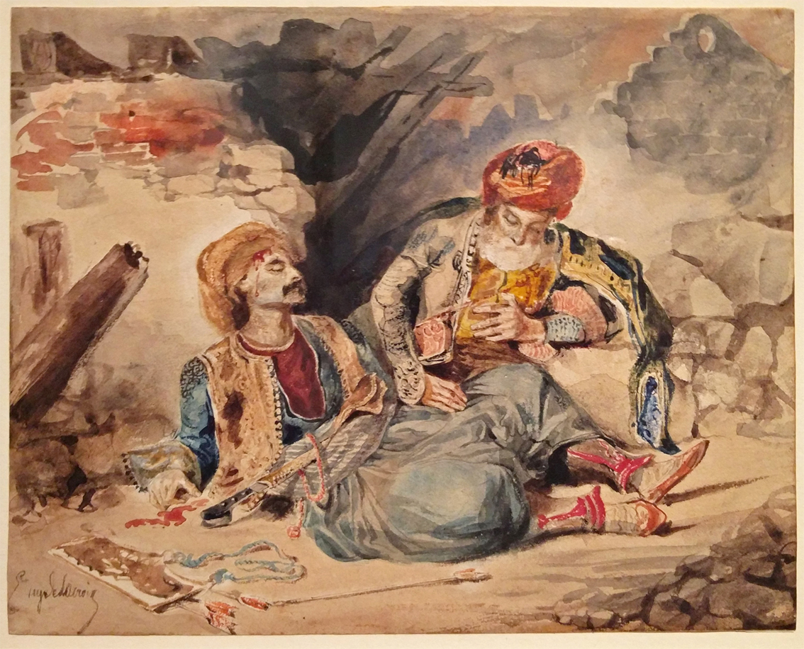 17Étude pour les scènes de massacres de Scio (Chios)