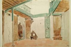 28Une cour à Tanger