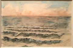 60Coucher de soleil sur la mer à Dieppe