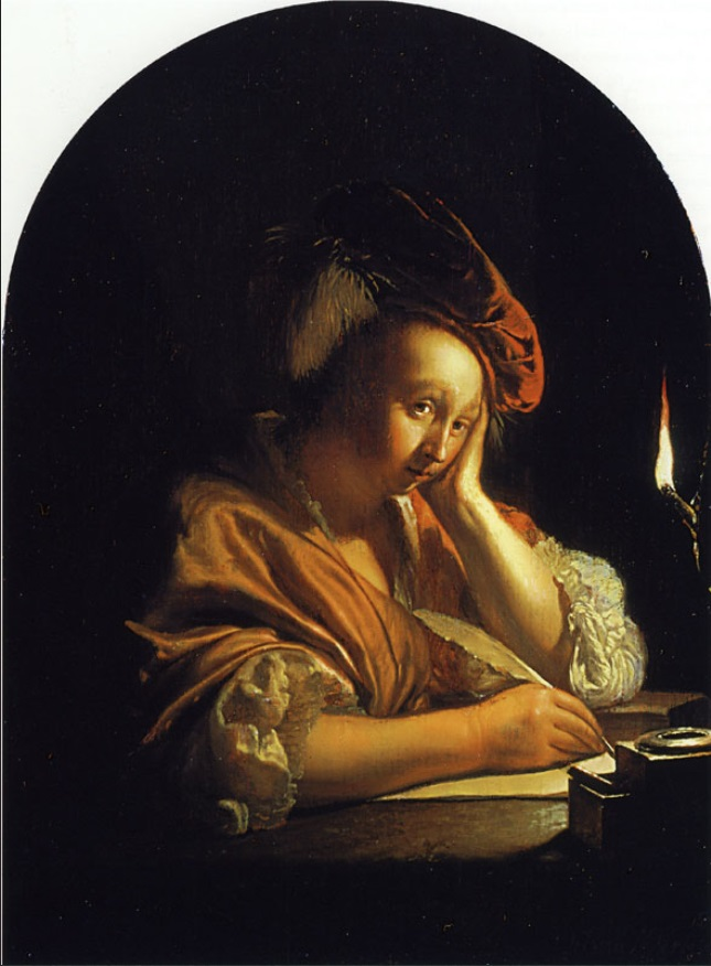 Frans van Mieris L\'inspiration