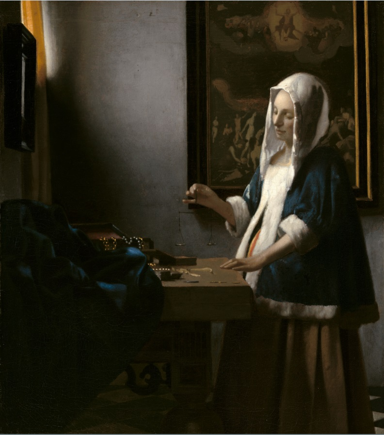 Vermeer Femme à la balance