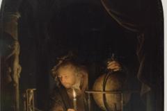 Gérard Dou Astronome à la chandelle