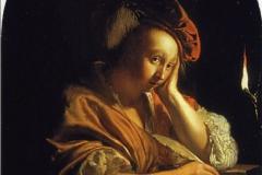 Frans van Mieris L'inspiration
