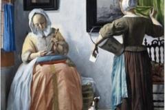 Gabriel Metsu Jeune femme lisant une lettre