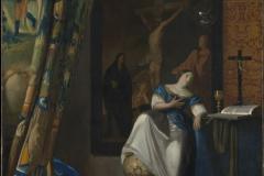 Vermeer Allégorie de la foi catholique