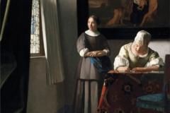 Vermeer La lettre