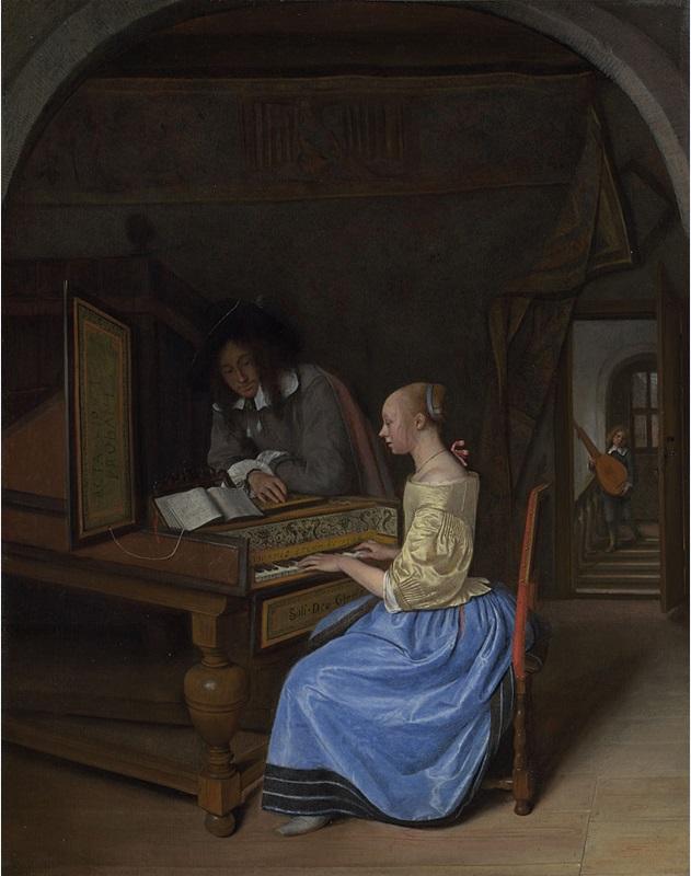"""Jan Steen """"Le morceau de musique"""""""