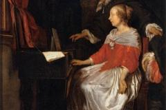 """Gabrïel Metsu """"La leçon de musique"""""""