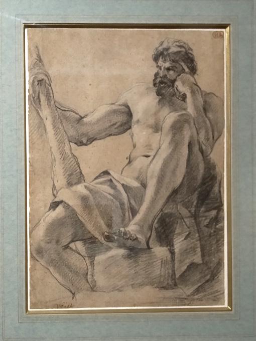 09Simon Vouet étude pour la figure d'Hercule