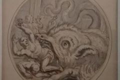 13François Chauveau Les compagnons de Cadmus mangés par un monstre