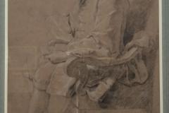 22Hyacinthe Rigaud étude pour le portrait de Jean-Baptiste Colbert de Torcy