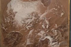 29 Michel II Corneille Junon et Éole étude pour un plafond