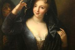 Jean Raoux Jeune fille au collier de perles059