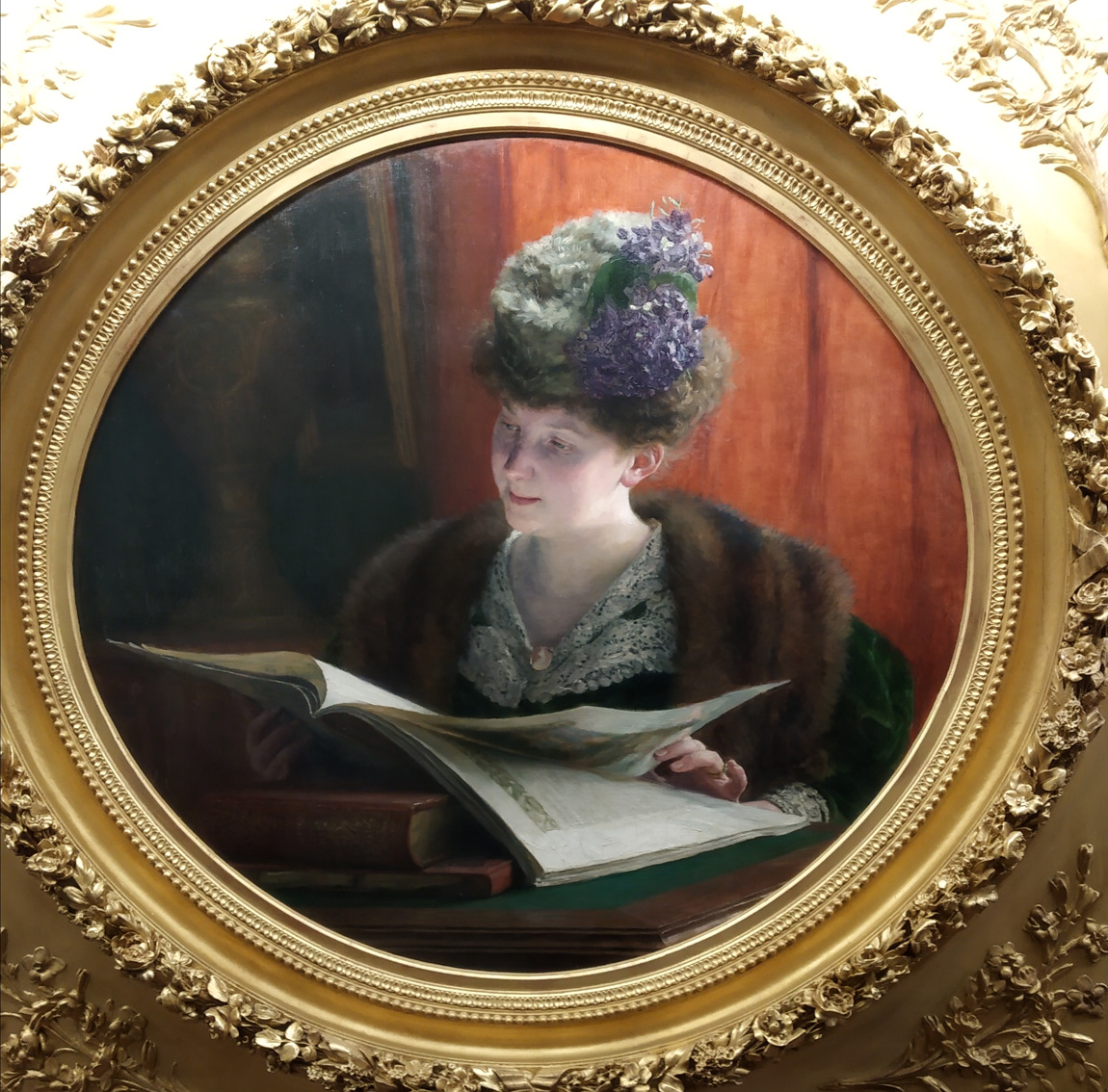 Rémy Cogghe Portrait de Madame Zoé Malard