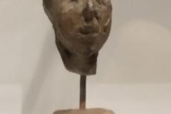 Tête de Simone de Beauvoir