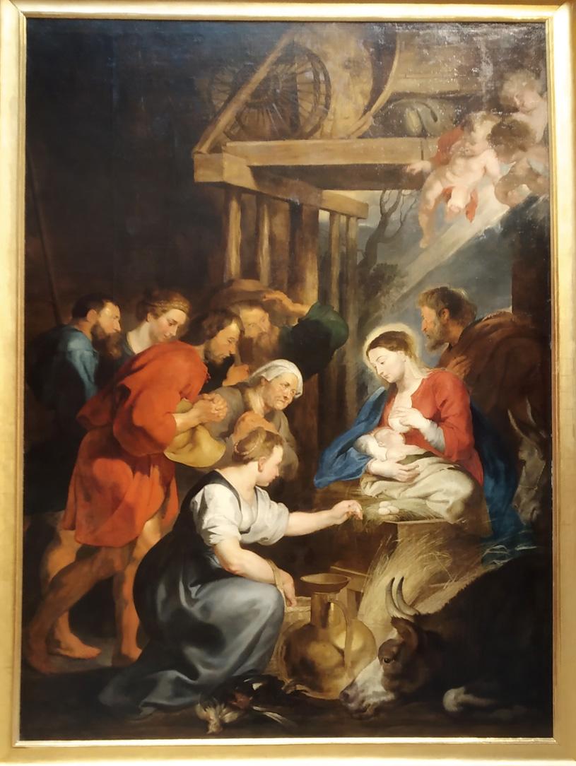 Pierre-Paul Rubens L'adoration des bergers