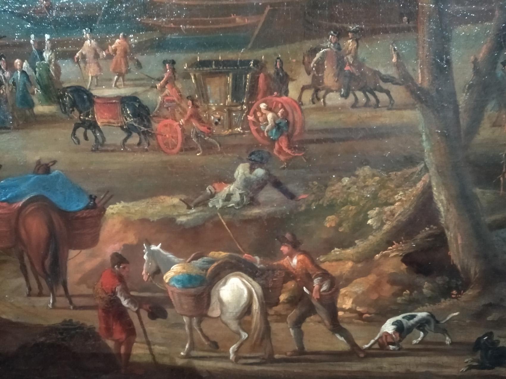 Vue de Rouen prise de Saint Sever détail2