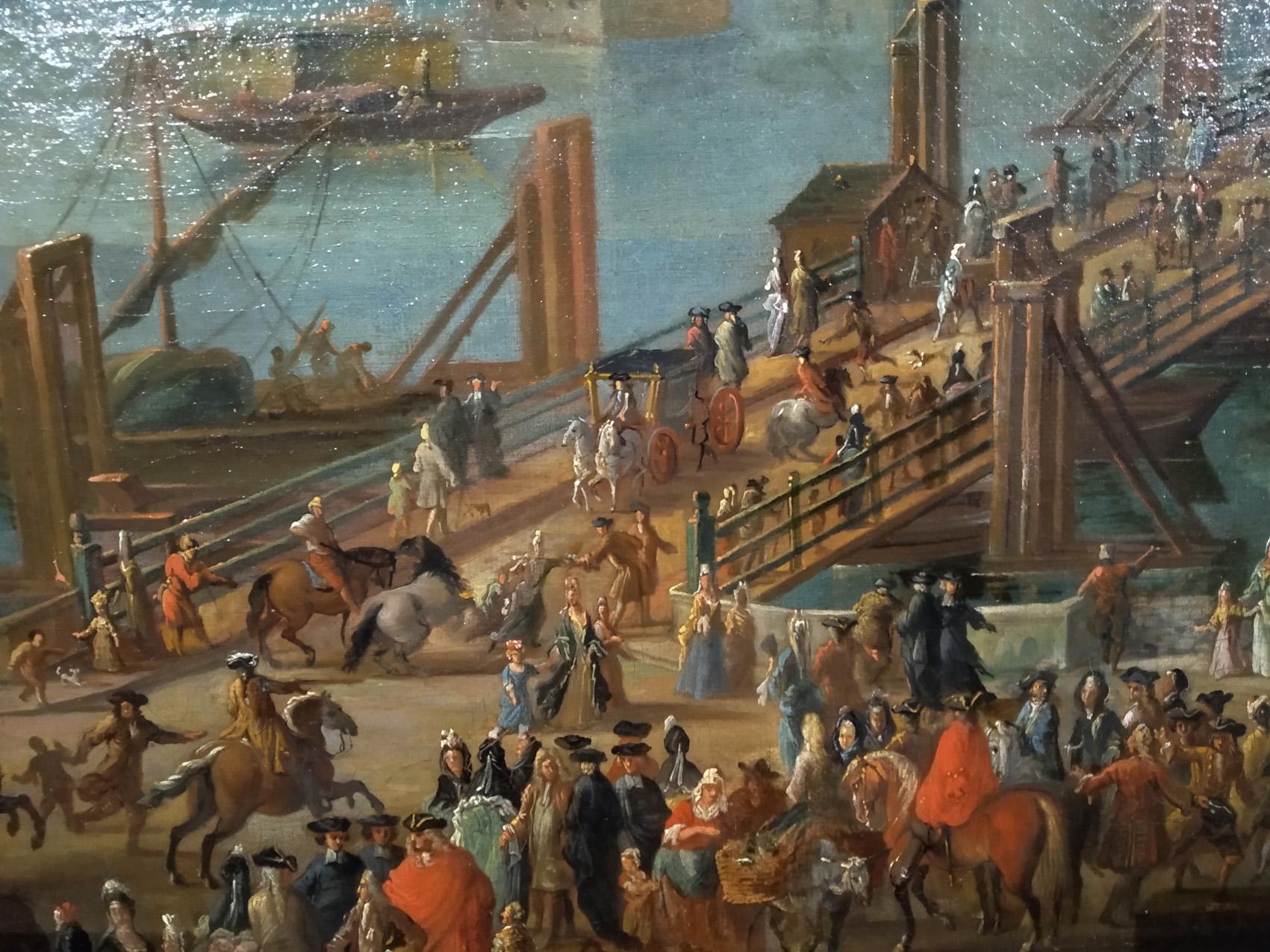 Vue de Rouen prise de Saint Sever détail3