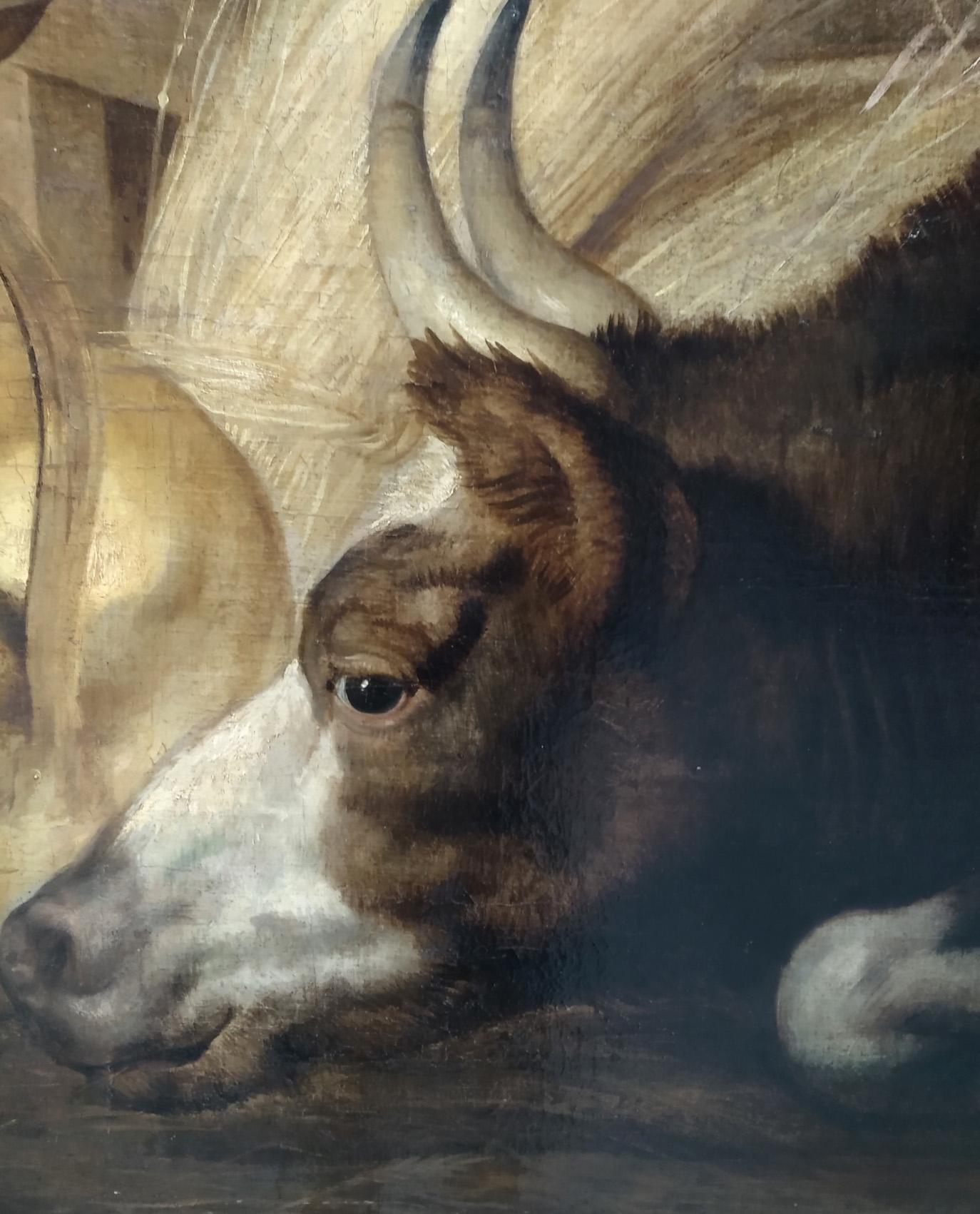 détail L'adoration des bergers