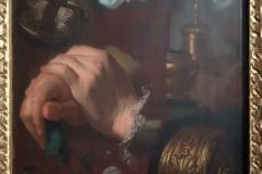 03 Hyacinthe Rigaud études huile sur papier marouflé