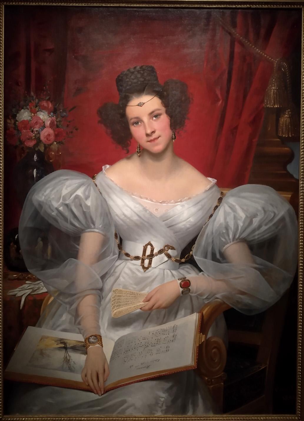 08Joseph-Désiré Court Portrait de la Marquise Chasseloup-Laubat