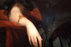 détail1 portrait de Madame  Rampal