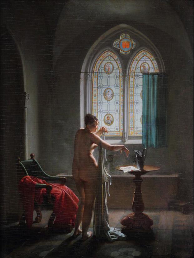 """Jean-Baptiste Mallet """" La salle de bain gothique"""""""