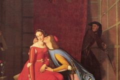 """Jean-Auguste-Dominique Ingres """"Paolo et Francesca"""""""