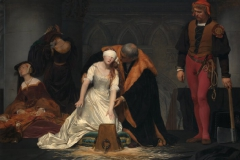 "Paul Delaroche ""L'éxécution de Lady Jane Grey"""