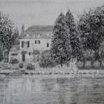 Bord de l'Eure,dessin