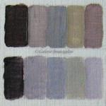 gris colorés, 3 couleurs primaires