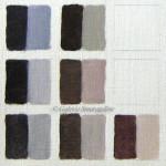gris colorés, couleurs complémentaires