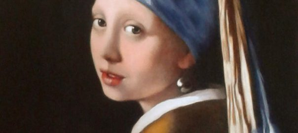 copie jeune fille à la perle, copie classique, Vermeer