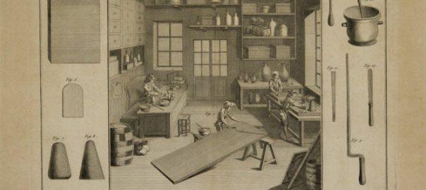 Fabricant de vernis, encyclopédie Panckoucke, Encyclopédie ou Dictionnaire raisonné des sciences, des arts et des métiers, Diderot et D'Alembert